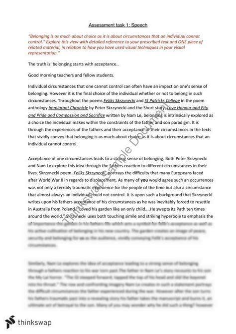 essay structure belonging belonging essays exploring issues of identity and