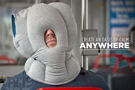 Nap Anywhere Pillow by The Ostrich Pillow Nap Anywhere Anytime