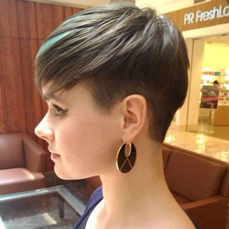 growing out womens undercut undercut growing out stages