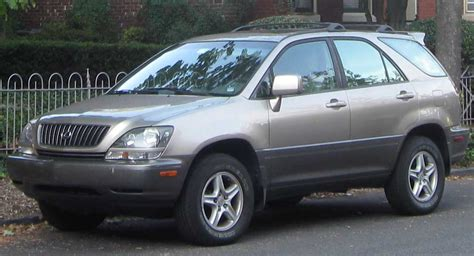 harrier lexus rx300 file lexus rx300 jpg wikimedia commons