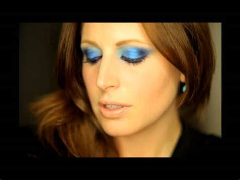 tutorial eyeliner clio tutorial make up occhi blu viola by cliomakeup video