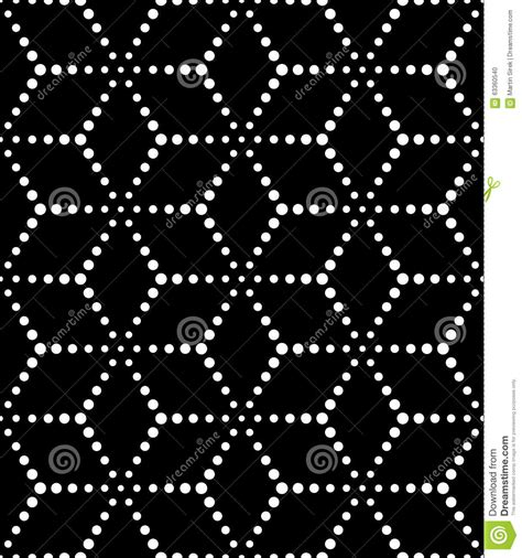 seamless geometric dots pattern stock vector art more vector modern seamless sacred geometry pattern dots black