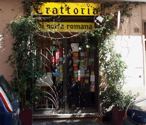trattoria porta romana trattoria porta romana viterbo