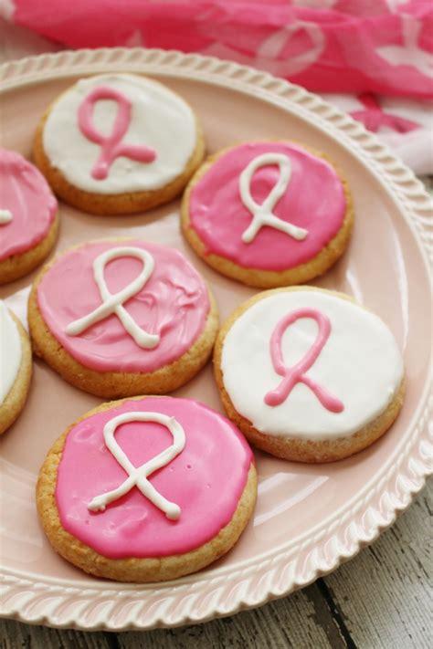 new year ribbon cookies recipe recipe pink ribbon cookies monday munchies mommies