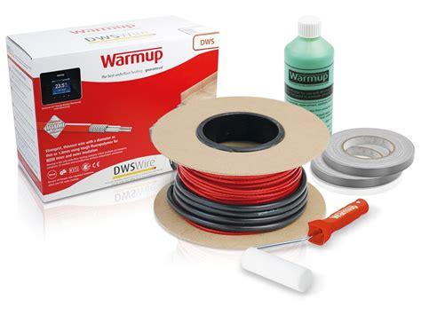 warmup wire underfloor heating kit