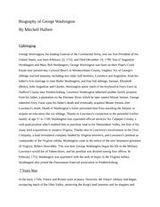 George Washington Biography Essay by Right To Arms Recently While President Barrack Obama Was Caigning His