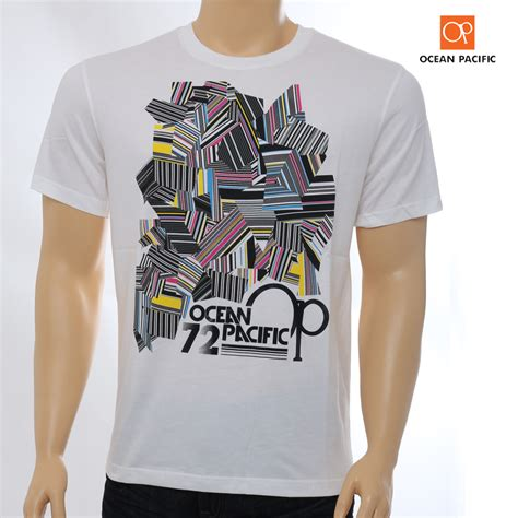 kaos t shirt pacific white elevenia