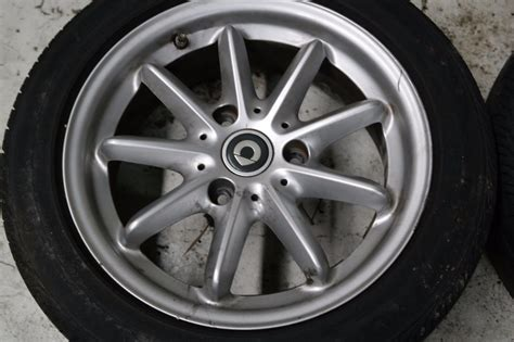 smart car wheels and tires smart car fortwo white oem set wheel tires