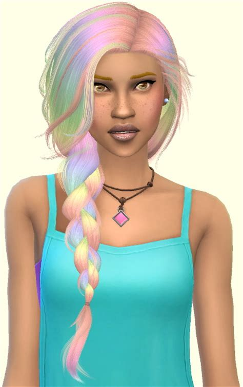rainbow hair part 6 original stealthic at annett s sims 4