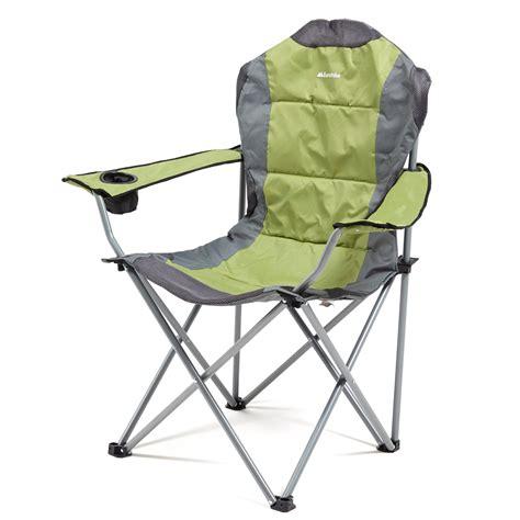 Green Folding Chairs by Eurohike Langdale Deluxe Folding Chair Green Green