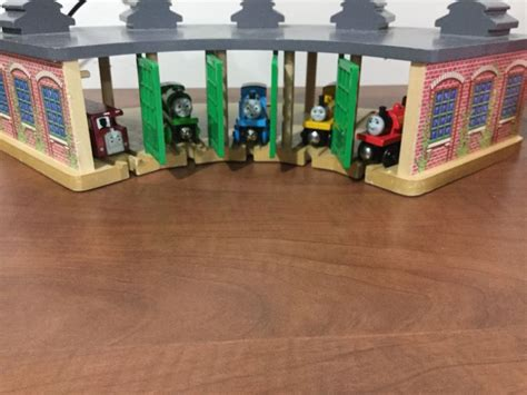 Wooden Railway Tidmouth Sheds by The Wooden Railway Tidmouth Sheds Engine