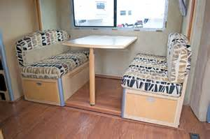 Rv Dining Table Bed A Great Room Replacing An Rv Dinette