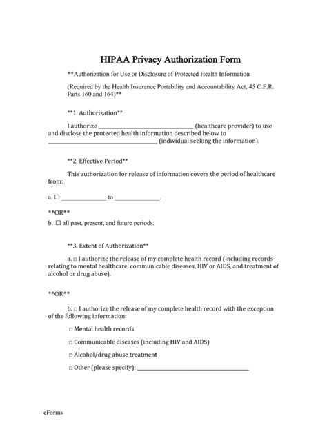 hipaa release form template free records release authorization form hipaa