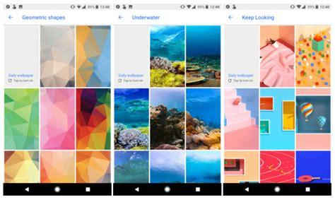 google update wallpaper google wallpapers app krijgt nieuwe categorie 235 n maar niet
