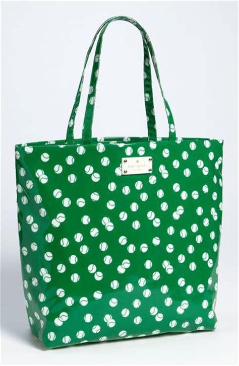 Kate Spade Daycation Bon Shopper kate spade daycation coated canvas bon shopper in green tennis green lyst