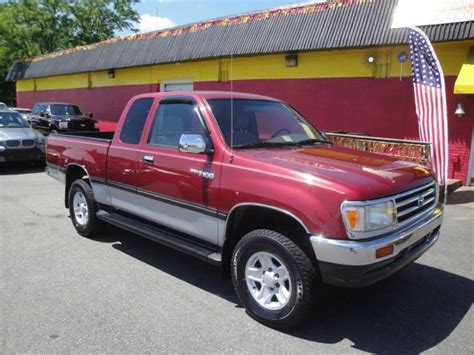 1998 Toyota T100 1998 Toyota T100 Sr5 Xtracab 4wd Truck For Sale