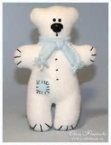 como aser un oso polar maqueta molde para hacer un oso polar de peluche 1 peluches de