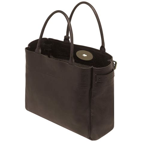 Mulberry Bayswater Handbag by Mulberry Bayswater Tote Handbag In Brown Chocolate Lyst