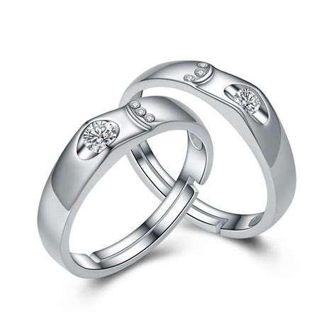 S925 Silver Ring s925 silver adjustable rings evermarker