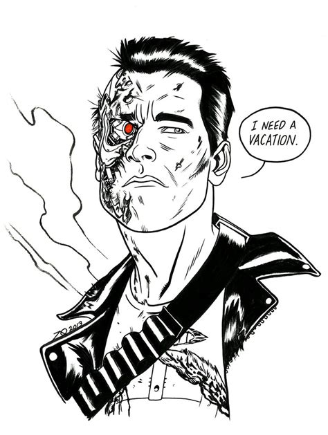 the terminator by quin ones on deviantart
