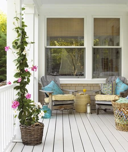 cottage porch ideas relaxed cottage porch free house interior design ideas