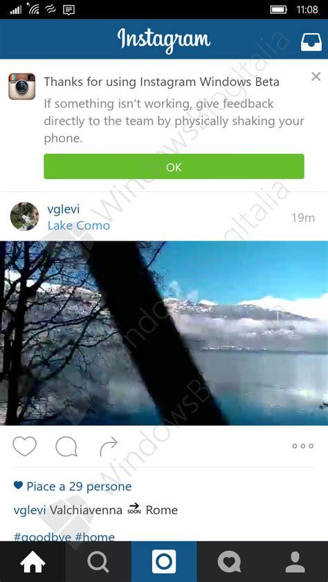 imagenes para windows 10 mobile instagram para windows 10 mobile se muestra en im 225 genes y