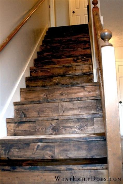 stained and distressed stairs hallways and stairways stains rustic stairs and