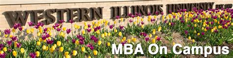 Western Illinois Mba Program by Mba College Of Business Technology Western Illinois