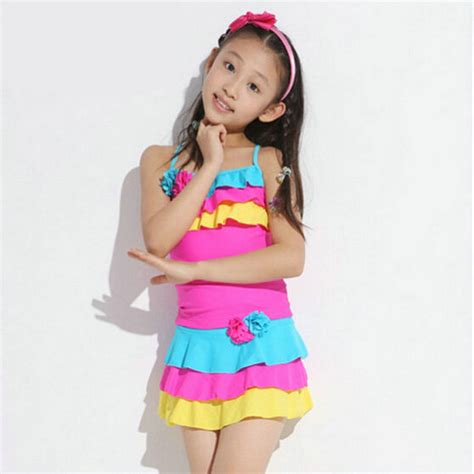 young girls swimwear age 13 4 12 years big girls swimwear swimsuits 2016 new fashion