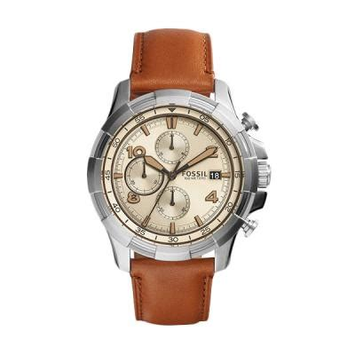 Jam Pria Fossil Crono On Silver Harga Fossil Dean Chronograph Fs5130 Silver Jam Tangan