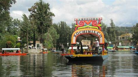 The Floating Gardens Of Xochimilco by Trajineras Embarcadero Nuevo Nativitas Picture Of