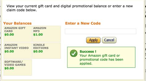 Gift Card Or Promotional Code For Amazon - check redeem your amazon gift cards and promotional codes