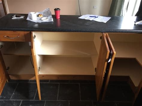 second hand kitchen sinks second hand kitchen with sink for sale in portlaoise
