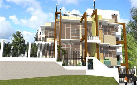 two storey with slab a roof small house plans modern slab house two storey with slab a roof small house plans modern