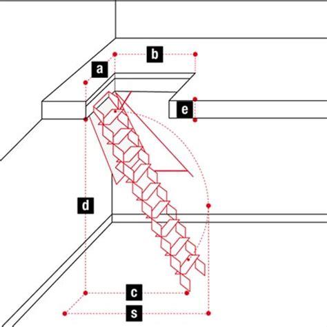 scale a scomparsa per soffitte scale retrattili per soffitte e sottotetti 70 x 120