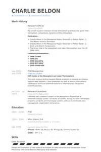 Agent De Recherche Exemple de CV   Base de données des CV