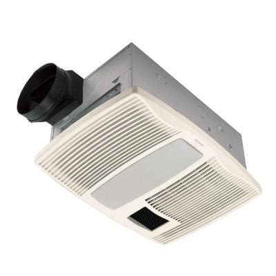 broan bathroom fan home depot broan qtx series very quiet 110 cfm ceiling exhaust bath
