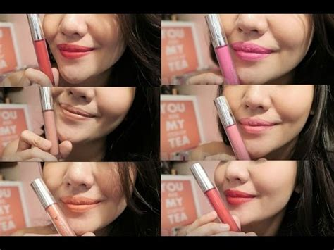 Wardah Indo dissy lip matte review and swatches lizzie parra doovi