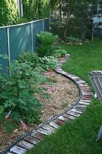 patio border ideas top 28 surprisingly awesome garden bed edging ideas