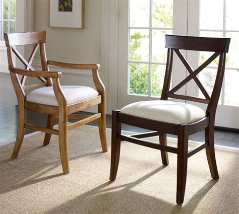 aaron upholstered chair pottery barn
