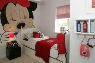 Red Minnie Mouse Bedroom Decor - dormitorios minnie mouse bedrooms