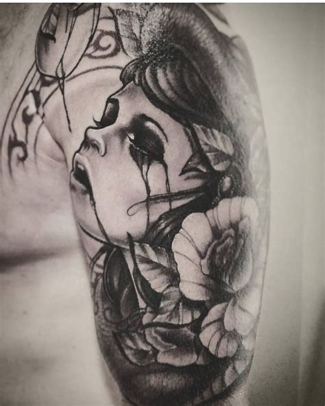 crying rose tattoo 50 best tattoos by yorick fauquant images on