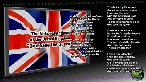 full version national anthem united kingdom national anthem quot god save the queen