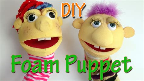 How To Make A Puppet Out Of A Paper Bag - how to make a foam puppet diy crafts