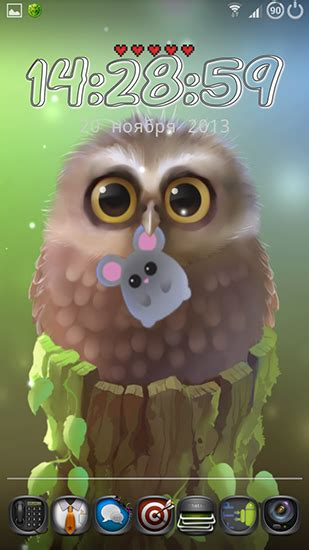 wallpaper android owl little owl live wallpaper for android little owl free