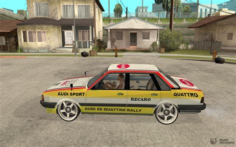 Audi 80 Rallye by Audi 80 Quattro Rally For Gta San Andreas
