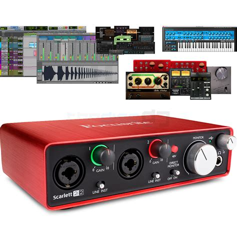Focusrite 2i2 2nd Audio Interface focusrite 2i2 2nd audio interface free plugin bundle the disc dj store