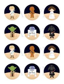 25 best ideas about star wars cupcake toppers on