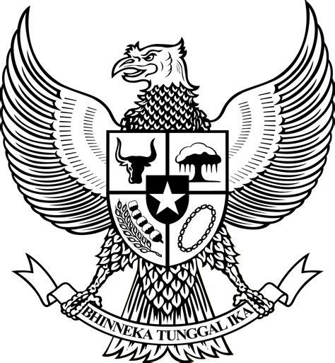 Raglan Garuda Indonesia by Logo Garuda Pancasila Bw Hitam Putih