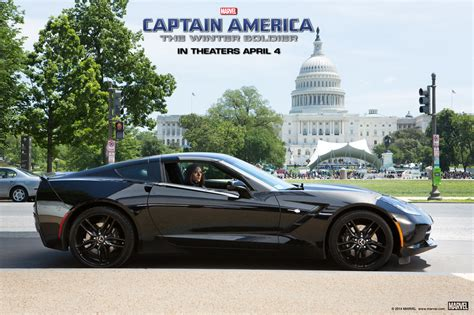 This Is The Black Widows Corvette Stingray From Captain | black widow s chevrolet corvette stingray photo gallery